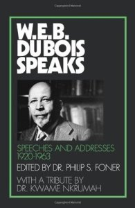 WEB DuBois Speaks
