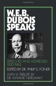 WEB DuBois Speaks